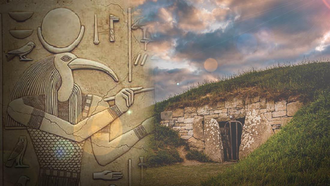 Antiguos egipcios en Irlanda la Tormenta de Thoth