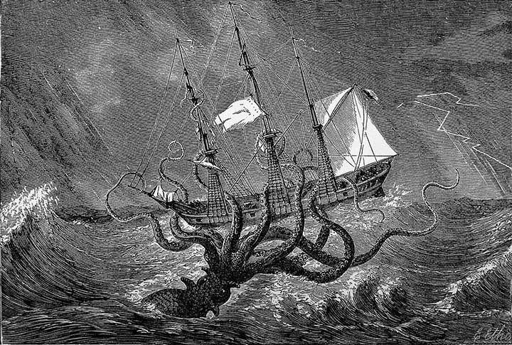 ¿Existió realmente el Kraken? Estos fósiles podrían demostrarlo