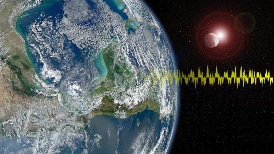 Investigadores detectan «zumbidos» en la atmósfera de la Tierra