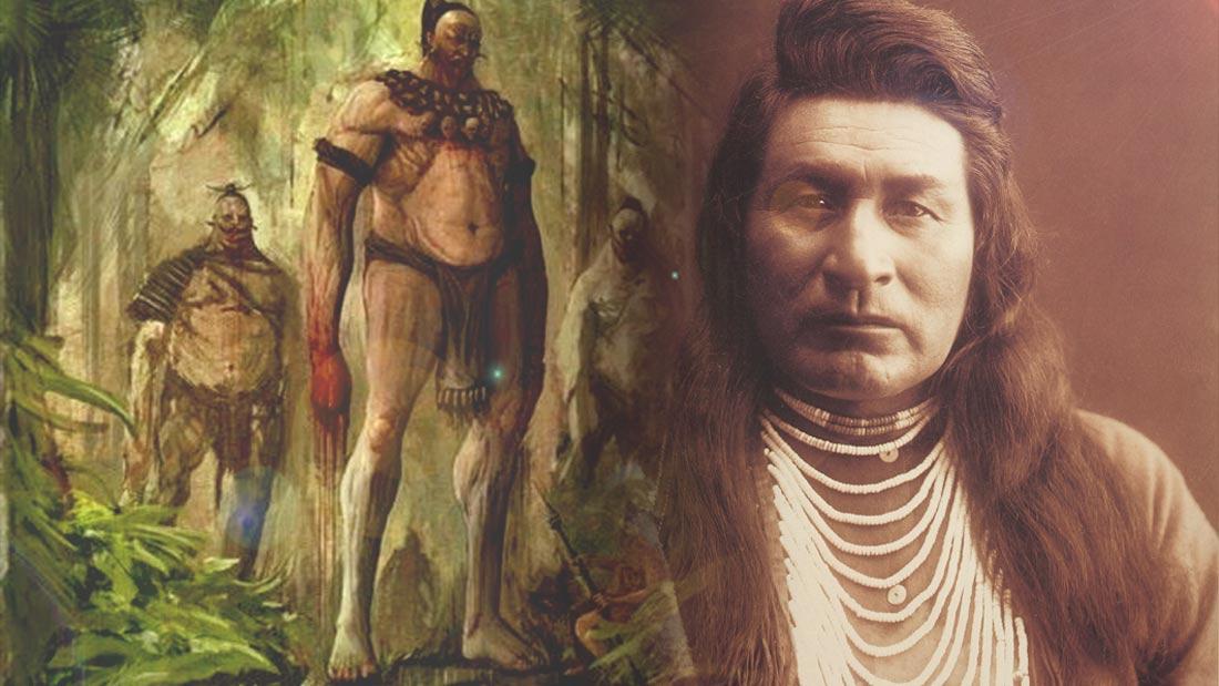 La Antigua raza de gigantes blancos descritas en las leyendas de las tribus nativas americanas