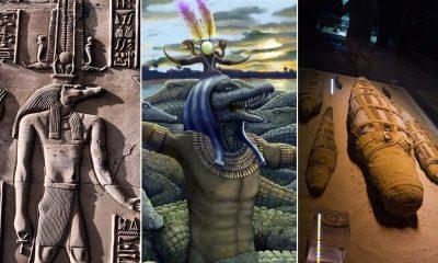 Los egipcios adoraban a un dios con cabeza de reptil y necesitaban miles de momias de cocodrilos