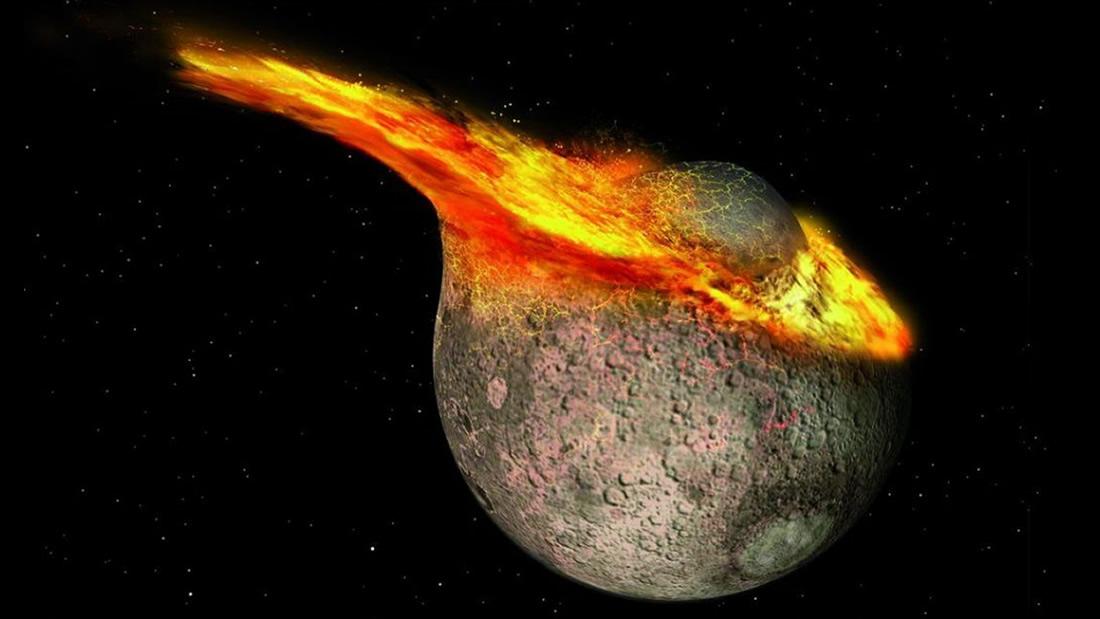 La luna es millones de años más joven de lo que pensábamos, sugieren científicos