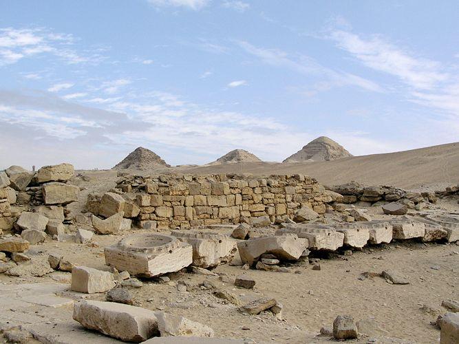 Puerta Estelar de los Templos Solares de Abu Gurab