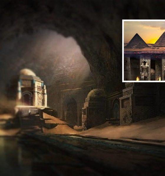 Toda una ciudad subterránea yace bajo las Pirámides de Giza