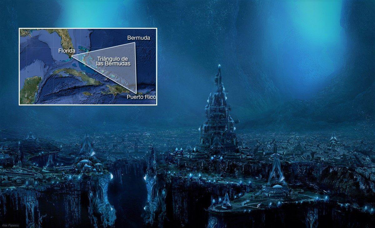Oceanógrafo: Pirámide de Cristal existe bajo el Triángulo de las Bermudas con tecnología desconocida