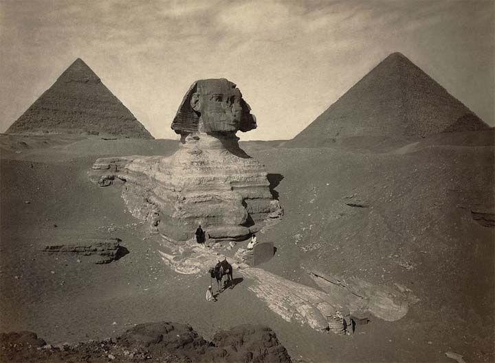 ¿Por qué la Gran Esfinge está ausente en los registros antiguos de Egipto?