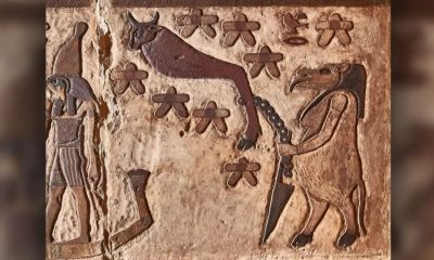 """Arqueólogos descubren constelaciones """"desconocidas"""" en un antiguo templo egipcio"""