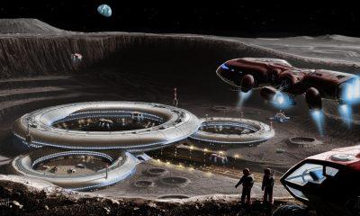 ¿Podrían los extraterrestres estar recolectando minerales de la Luna?