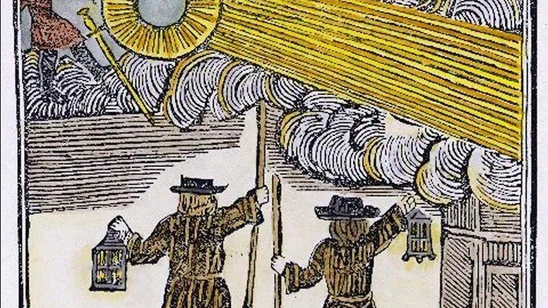 Insólito Objeto atravesó en el cielo nocturno el 16 de diciembre de 1742... ¿Qué era?