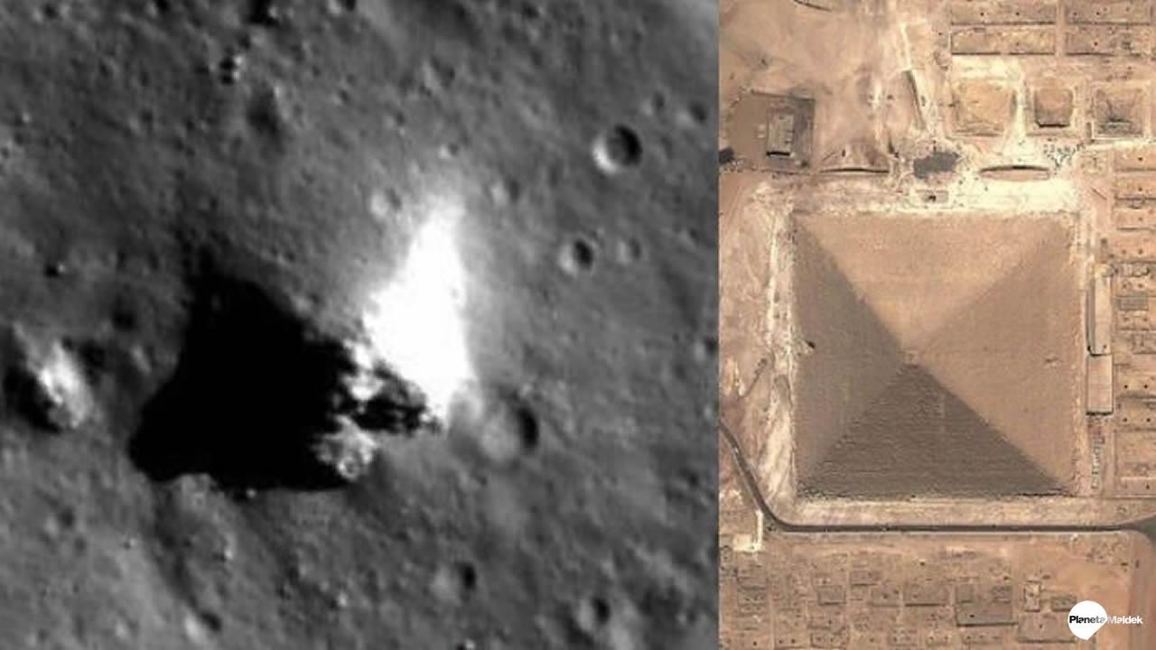 Investigador descubre una enorme Pirámide en la Luna