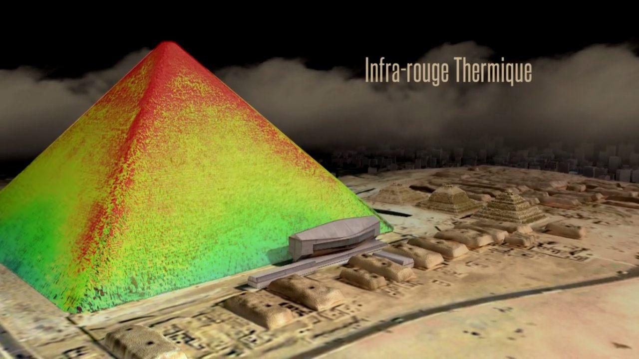 Pirámide de Giza en Egipto concentran energía dentro de sus cámaras, descubren científicos