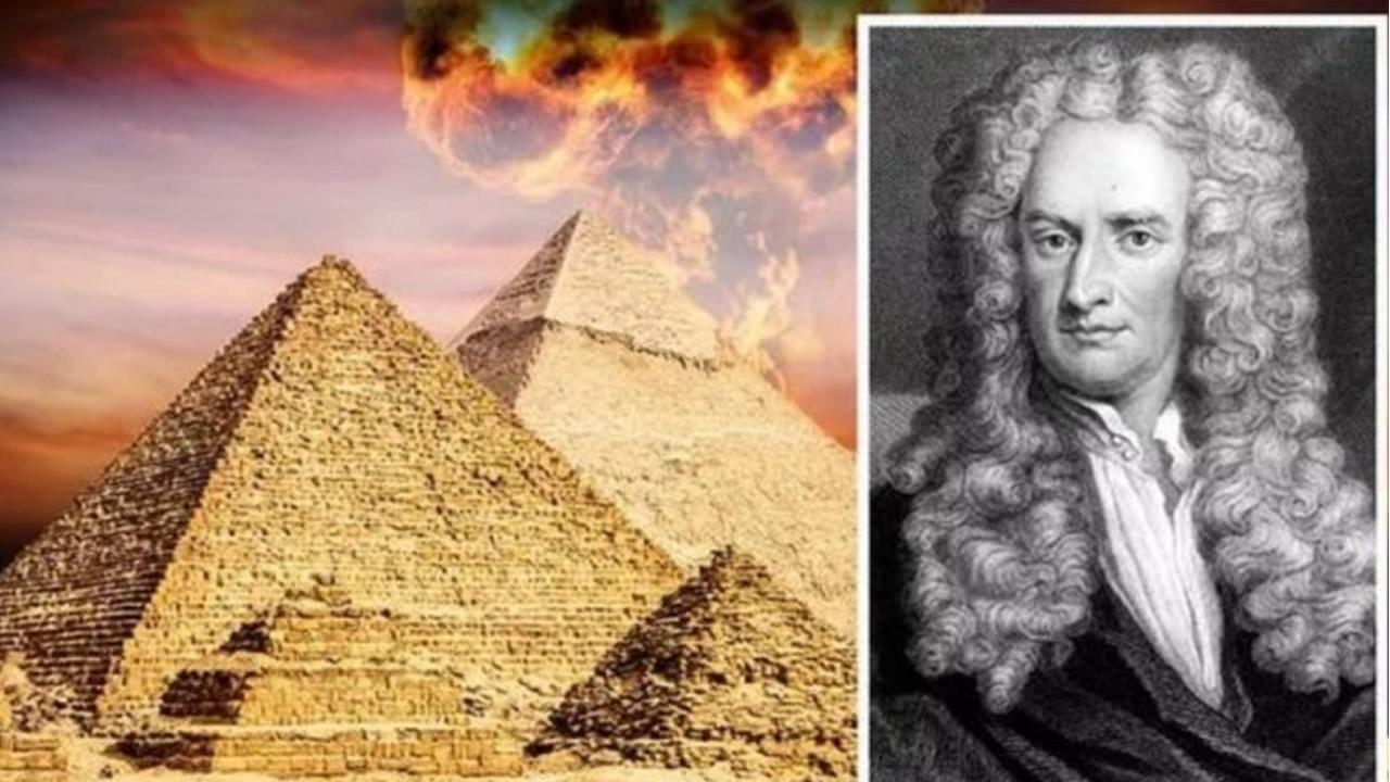 """Isaac Newton trató de descifrar el """"Código Secreto"""" de la Pirámide"""