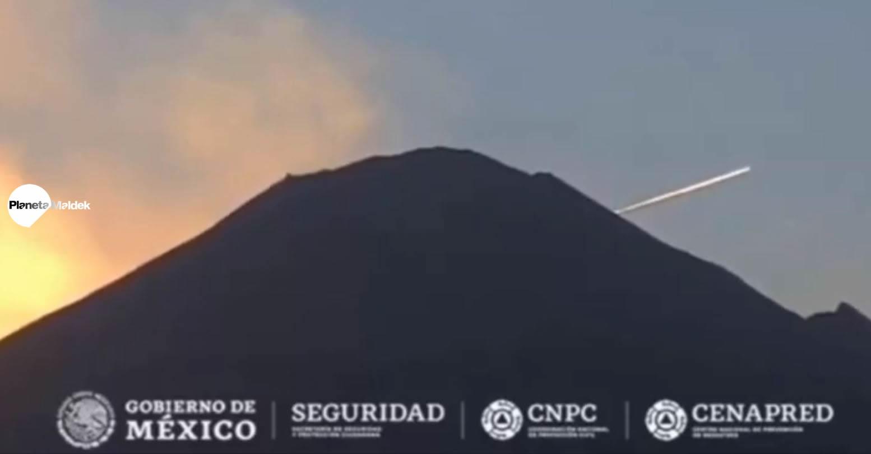 Sorprendente aumento de la actividad OVNI en el volcán Popocatépetl