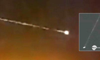 Objeto Espacial No Identificado entró en la atmósfera terrestre sobre México