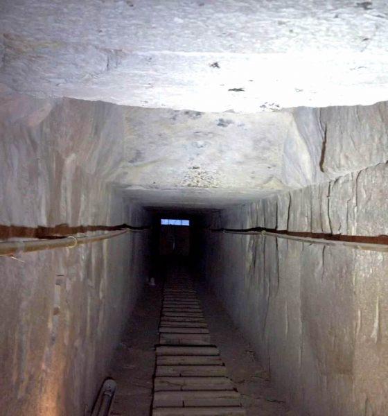 Bloguero revela el secreto del misterioso túnel en la Pirámide de Keops, Egipto