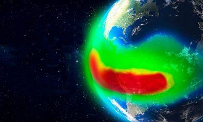 """La anomalía del """"Triángulo de las Bermudas"""" que apaga satélites y computadoras de la Estación Espacial"""