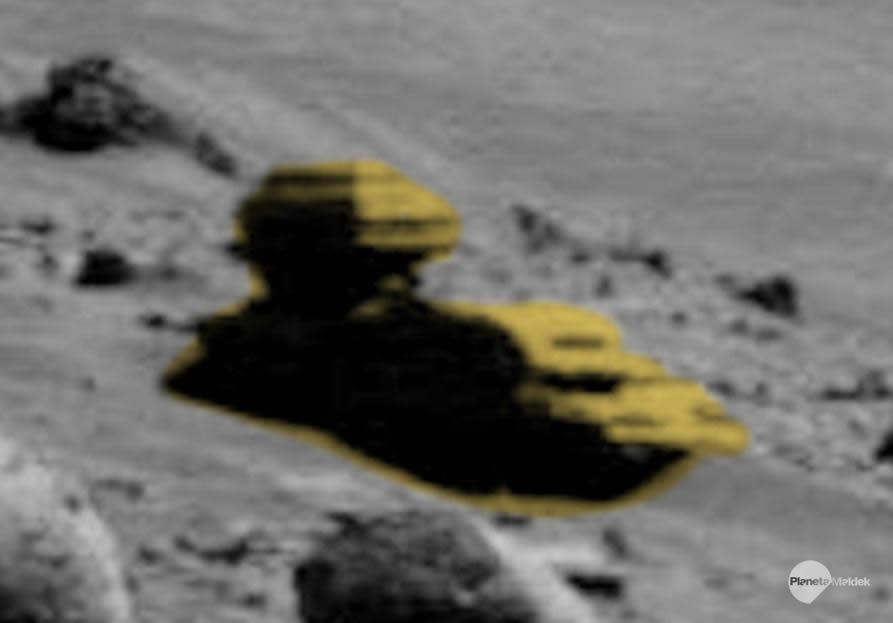 ¿Es esto una Esfinge en Marte?