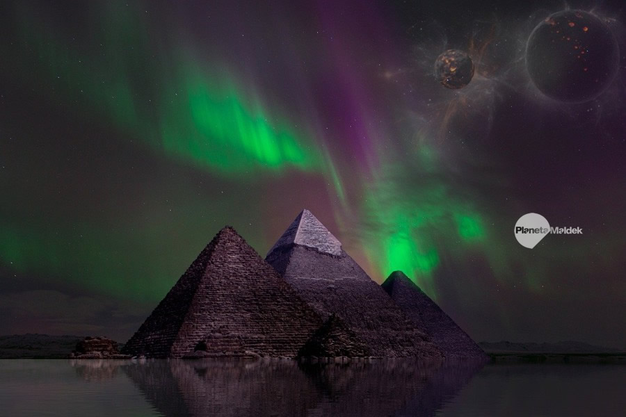 Faraones, híbridos extraterrestres humanos