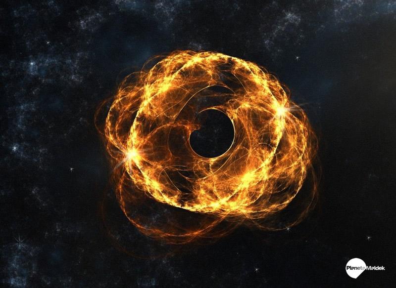 ¿Puede ser Nibiru un agujero negro o una bola de materia oscura?