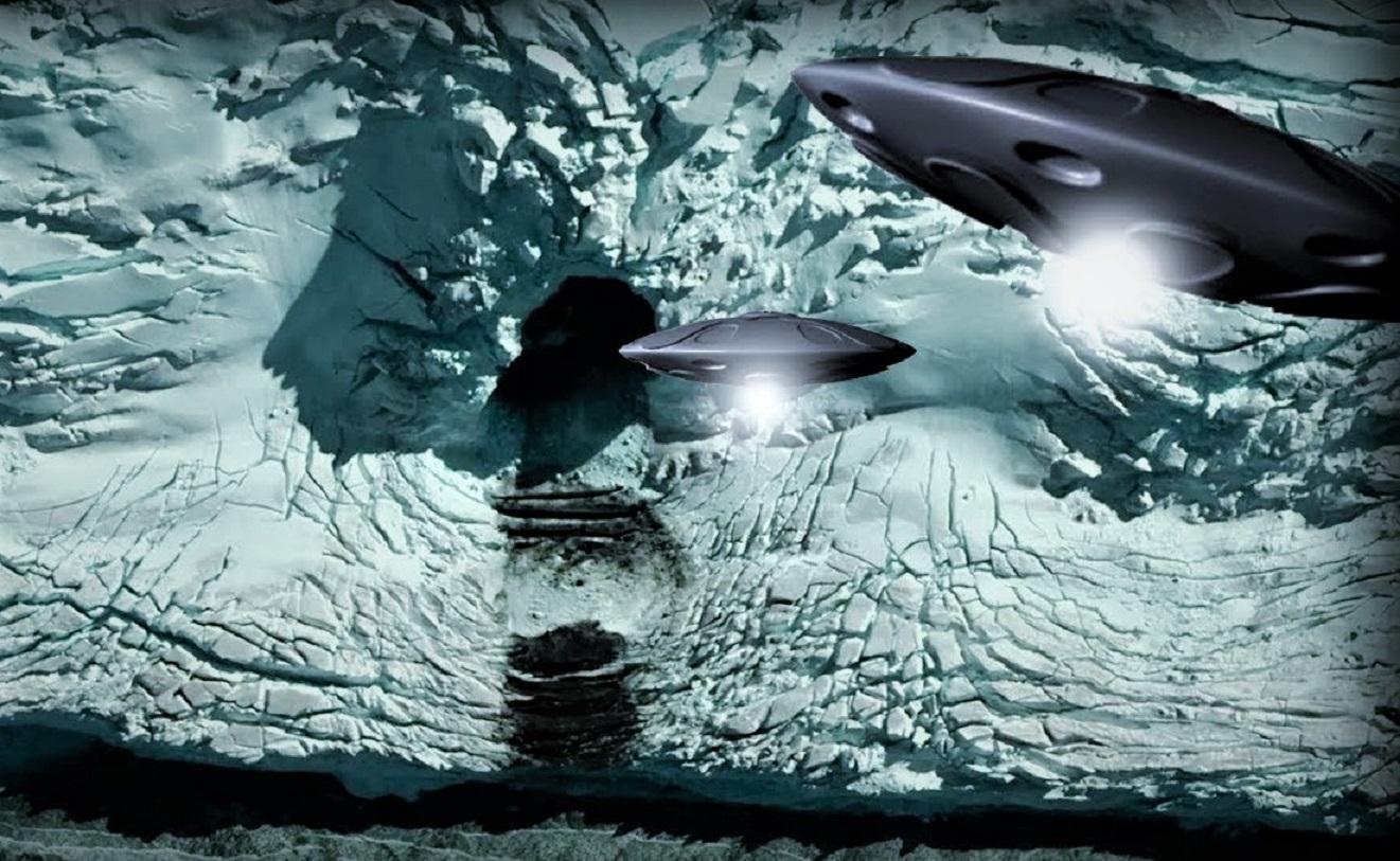 """Bases extraterrestres subterráneas en la Antártida fueron reveladas en """"Operaciones Secretas"""""""