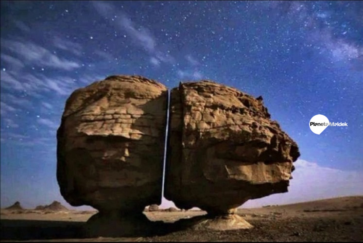 Piedra cortada de Al Naslaa