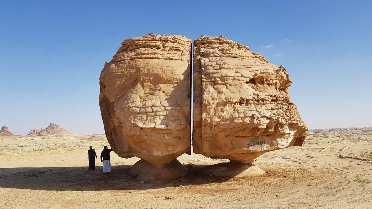 """¿Rocas cortadas con """"láser"""" en el remoto pasado? El misterio de las enormes rocas imposibles"""