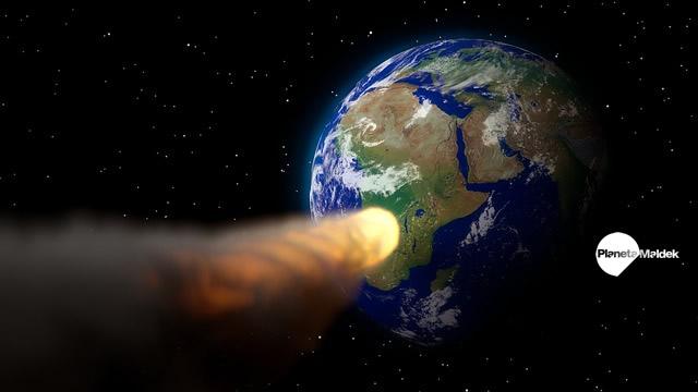 El escenario de la caída de un asteroide