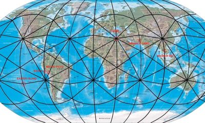 Líneas Ley: sobrenaturales líneas que conectan el Universo