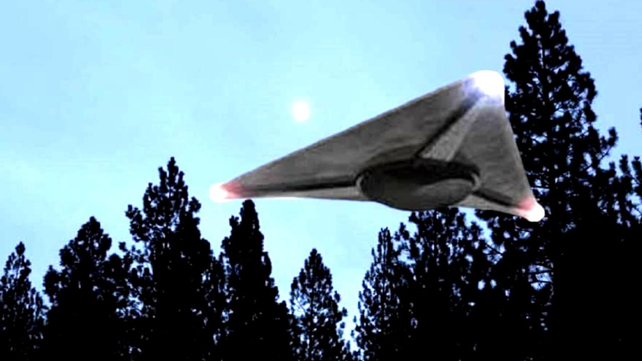 Liberan vídeo de OVNI triangular acechando a destructor de la Marina de EE. UU.