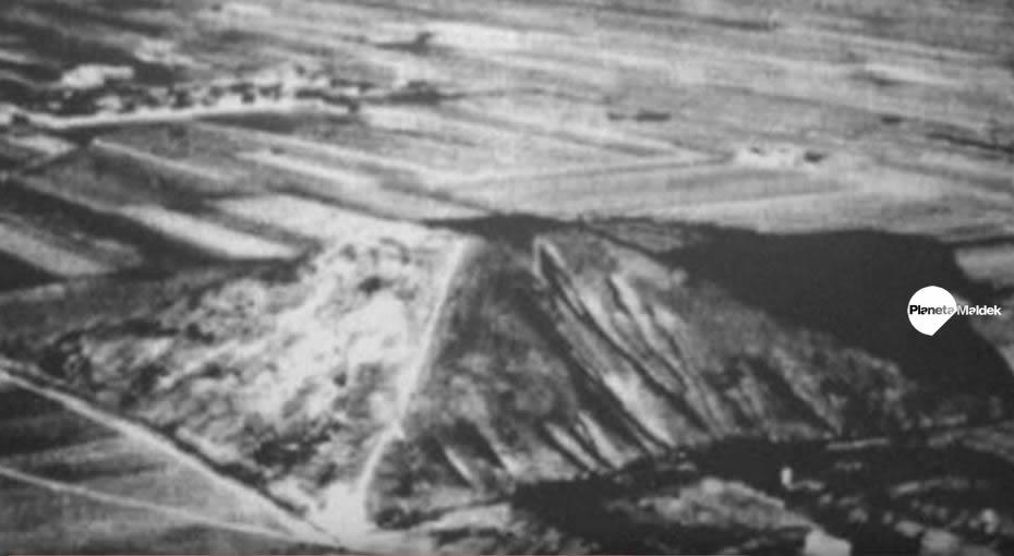 Pirámide Blanca de Xian, China