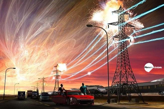 Fluctuaciones débiles en la red eléctrica podrían ocasionarse tras la tormenta geomagnética