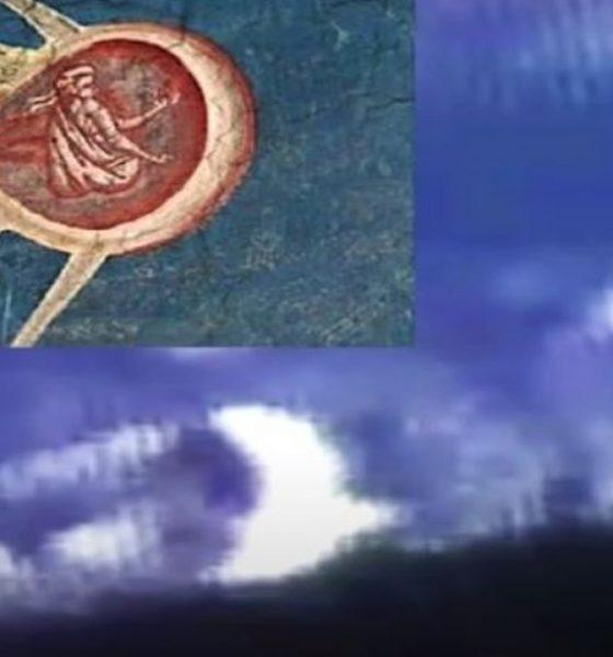 "OVNI similar a objeto volador de imagen ""bíblica"", voló cerca de la Estación Espacial Internacional"