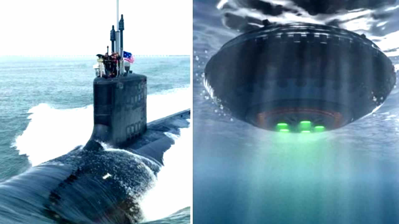 Submarinos detectan OVNIs / OSNIs que se desplazan rápidamente bajo el agua
