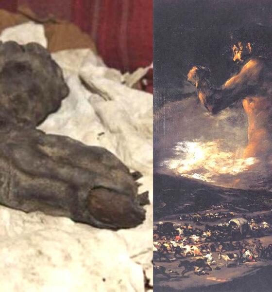 Dedo de 38 cm de largo sería la evidencia de Gigantes en el antiguo Egipto