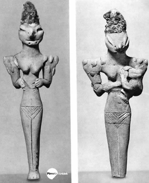 Estatuillas reptil de Al-Ubaid