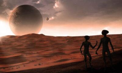 ¿Fue Marte habitado por una raza alienígena de gigantes en el remoto pasado?