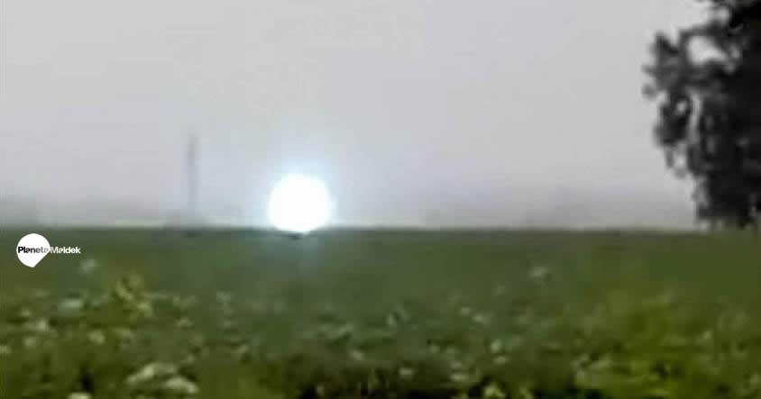¿Un orbe? ¿una entidad biológica extraterrestre?