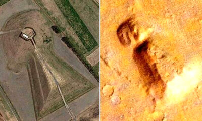 Estructura enorme en Marte impresionantemente similar a antigua tumba japonesa