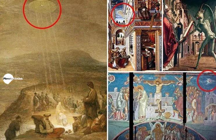 OVNIs en la religión