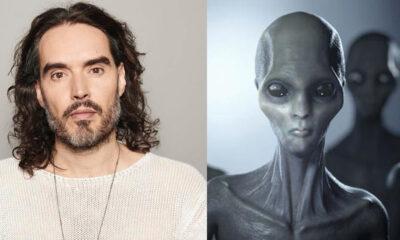 """Russell Brand: """"alienígenas pueden ser dioses y se han comunicado con nosotros"""""""