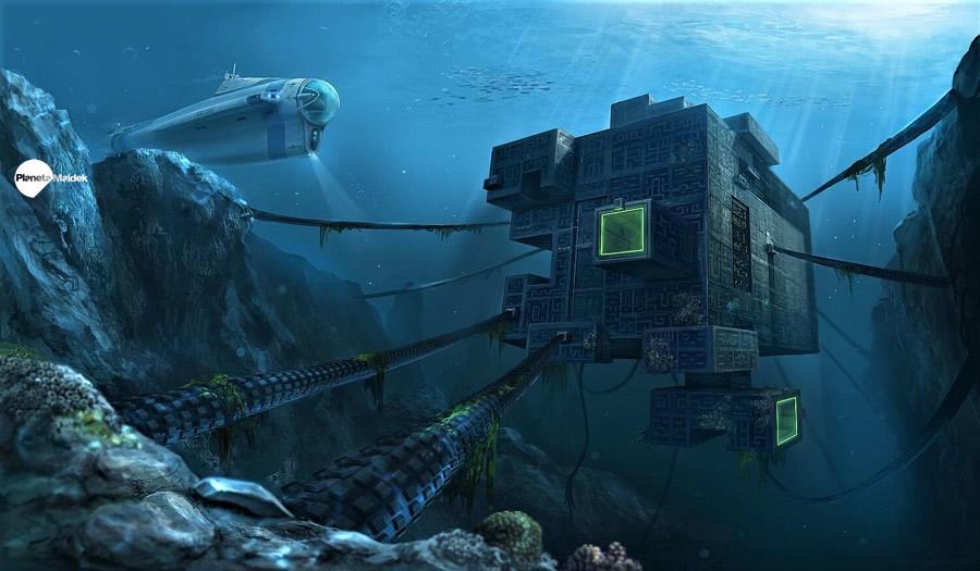 Base submarina extraterrestre