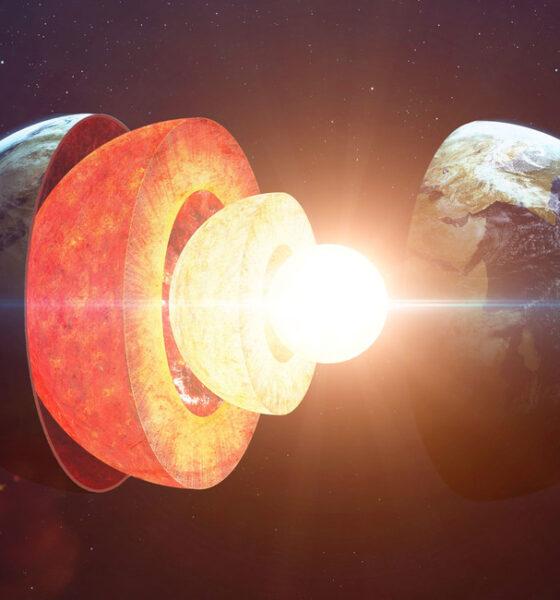 Enormes estructuras del tamaño de un continente halladas a 3.000 km de profundidad