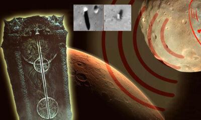 ¿Quién construyó los desconcertantes monolitos de Phobos, luna de Marte?