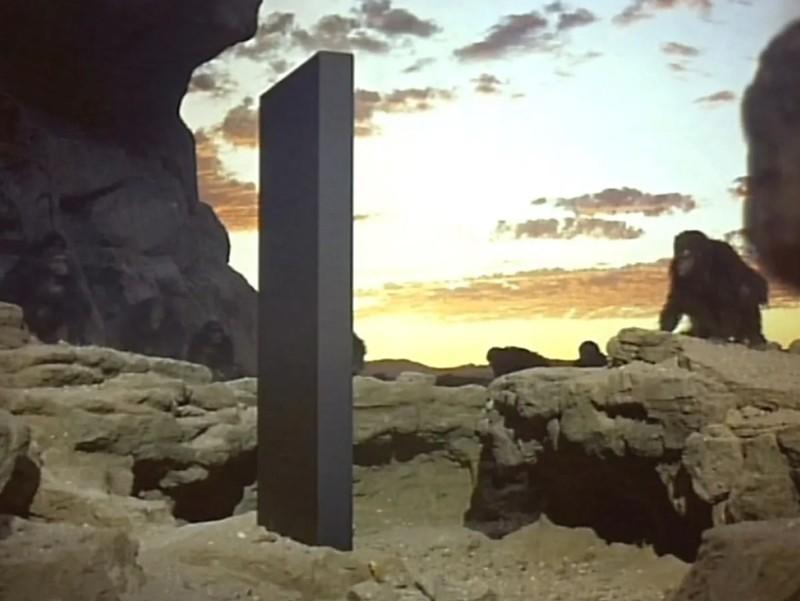 """Monolito en película """"2001: Odisea del Espacio"""""""