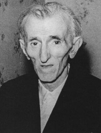 Última fotografía de Nikola Tesla