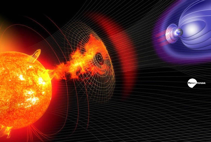 Portal magnético entre la Tierra y el Sol