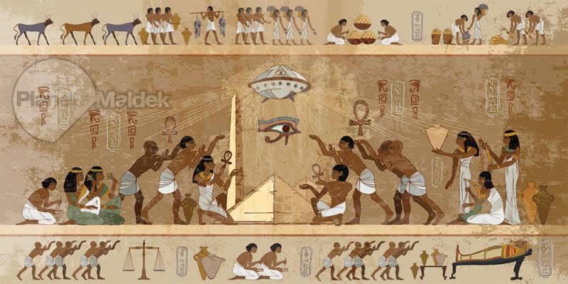 Extraterrestres en Egipto