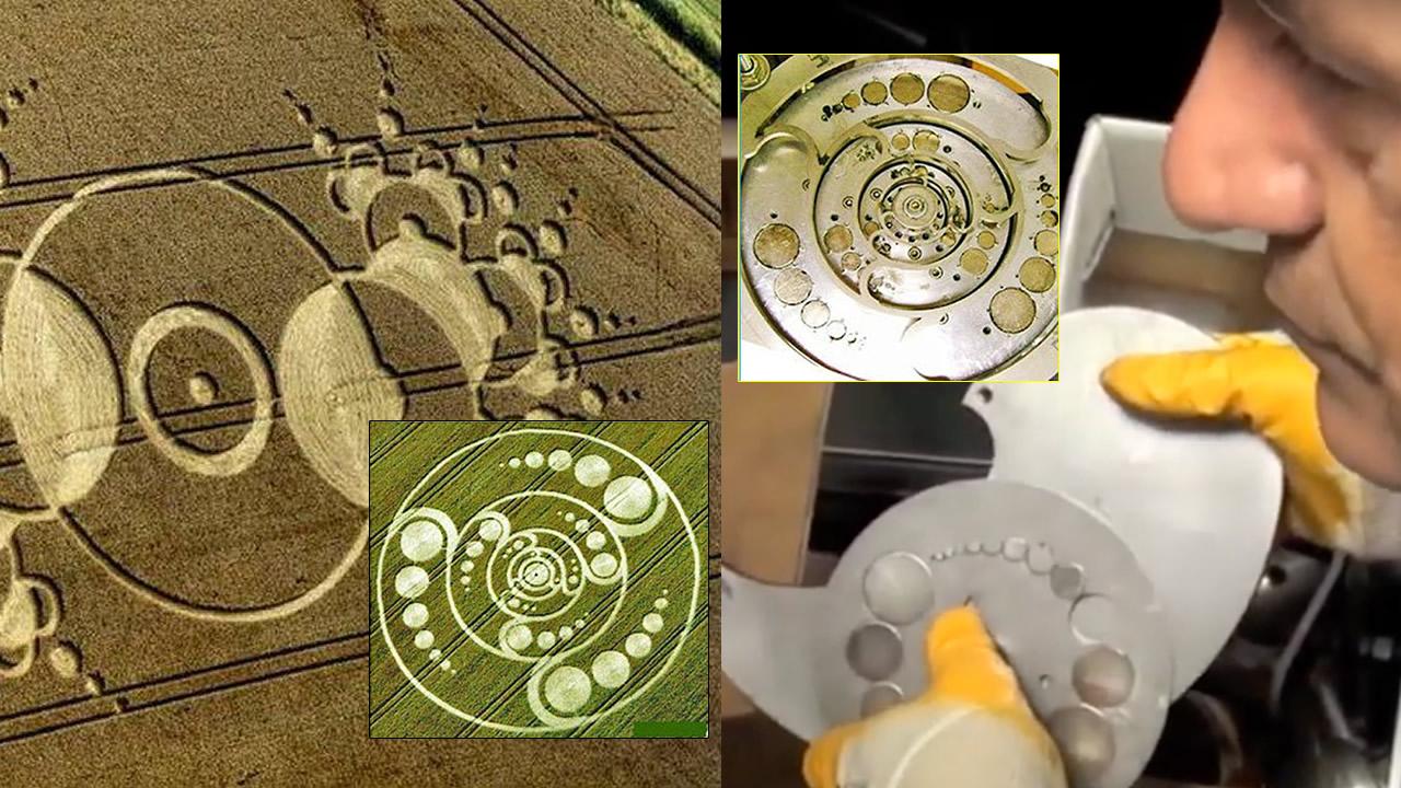 Inventor italiano afirma que crop circles son diseños de motores de energía libre