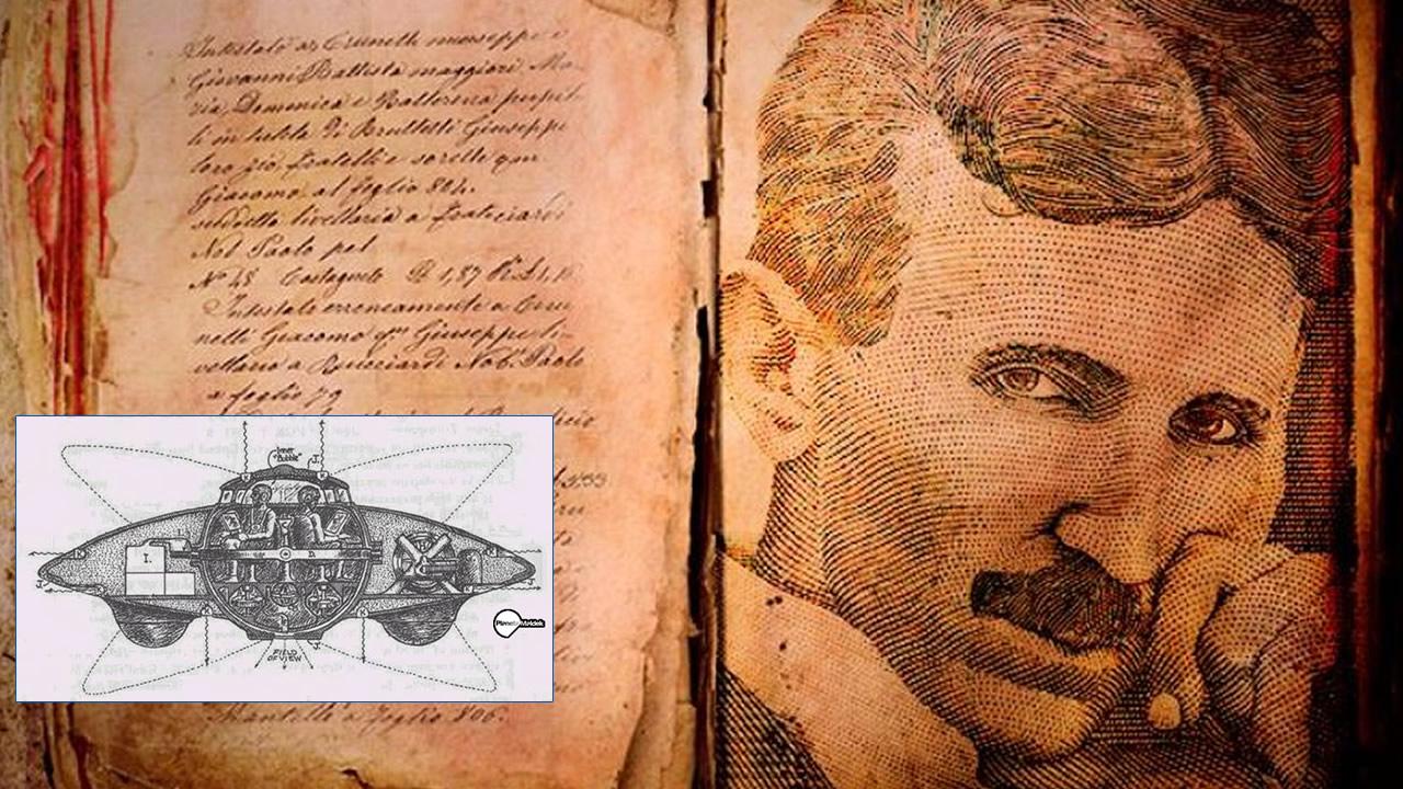 Tecnología antigravedad existe desde hace muchos años: los textos perdidos de Nikola Tesla