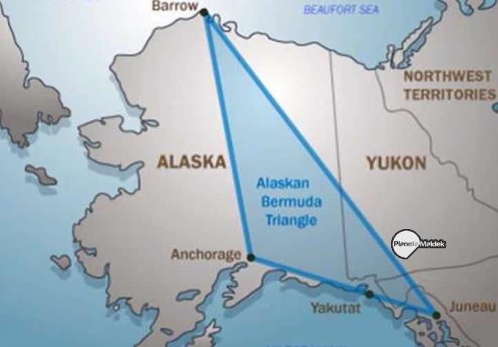 Triángulo del Diablo en Alaska